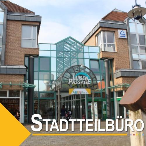 Stadtteilbüro Luisenpassage/ Quartiersmanagement
